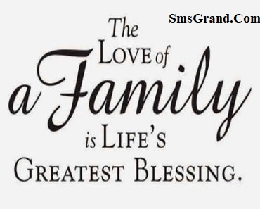 Family Status In English Family Love Bounding Quotes